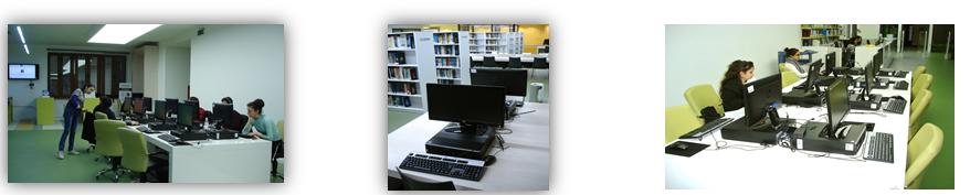 Pictures of Computer Clusters in the Library