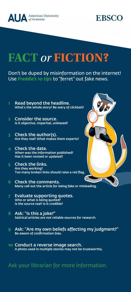 Fact or Fiction - Fake News Awareness
